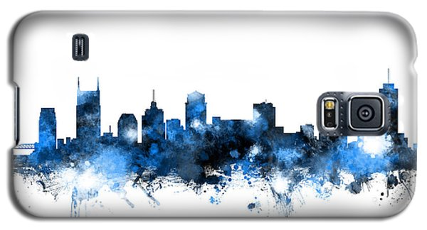 Nashville Tennessee Skyline Galaxy S5 Case by Michael Tompsett