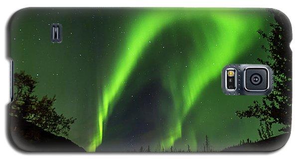 Northern Lights, Aurora Borealis At Kantishna Lodge In Denali National Park Galaxy S5 Case