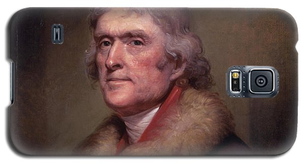 President Thomas Jefferson Galaxy S5 Case