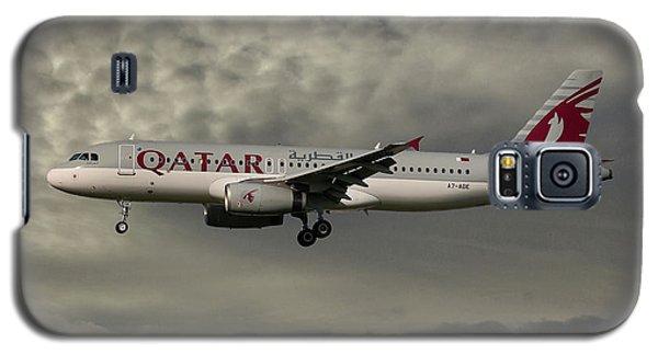 Jet Galaxy S5 Case - Qatar Airways Airbus A320-232 by Smart Aviation