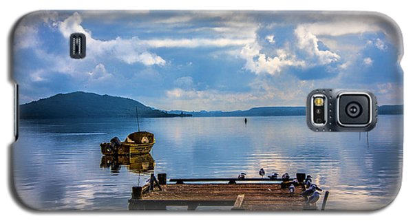 Galaxy S5 Case featuring the photograph Quiet Lake by Rick Bragan