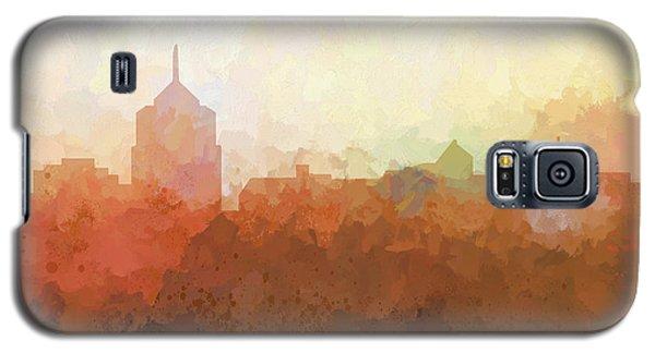 Galaxy S5 Case featuring the digital art Roanoke Virginia Skyline by Marlene Watson