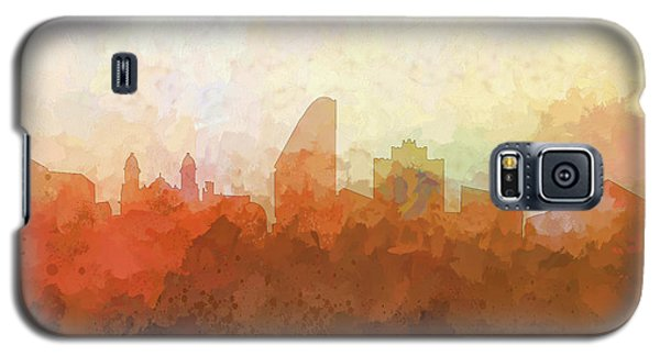 Galaxy S5 Case featuring the digital art San Jose California Skyline by Marlene Watson