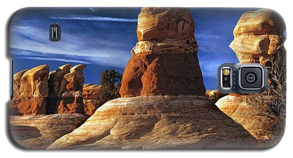 Sandstone Hoodoos In Utah Desert Galaxy S5 Case