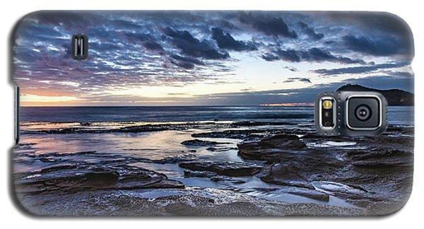 Seascape Cloudy Nightscape Galaxy S5 Case