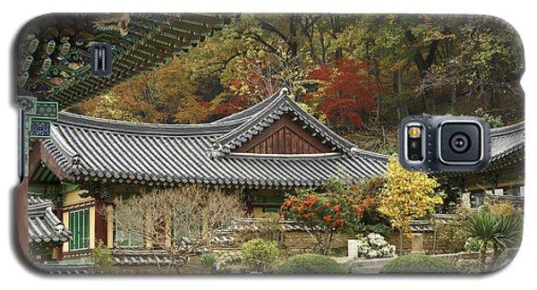 Seonamsa In Autumn Galaxy S5 Case