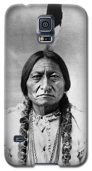 Portraits Galaxy S5 Case - Sitting Bull 1834-1890. To License For Professional Use Visit Granger.com by Granger
