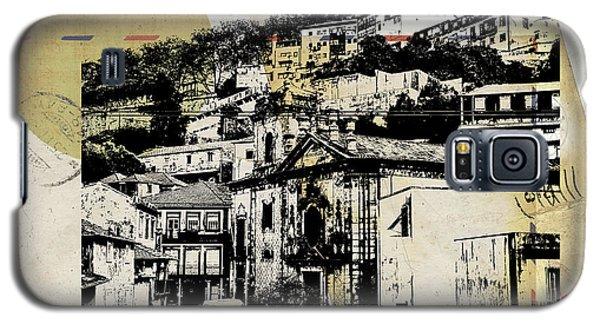 stylish retro postcard of Porto  Galaxy S5 Case