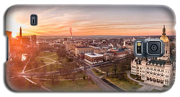 Sunrise In Hartford, Connecticut Galaxy S5 Case by Petr Hejl