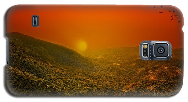 Sunset Galaxy S5 Case by Charuhas Images