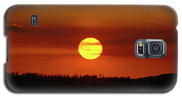 Galaxy S5 Case featuring the photograph 4- Sunset by Joseph Keane