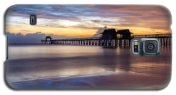 Sunset Naples Pier Florida Galaxy S5 Case