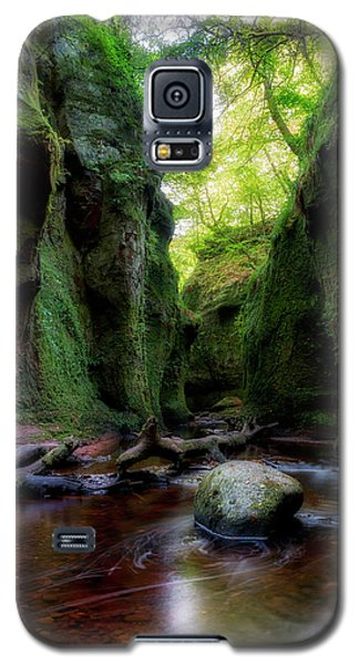 The Devil Pulpit At Finnich Glen Galaxy S5 Case