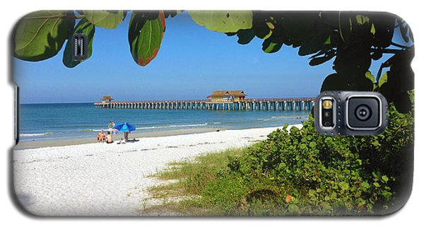 The Historic Naples Pier Galaxy S5 Case