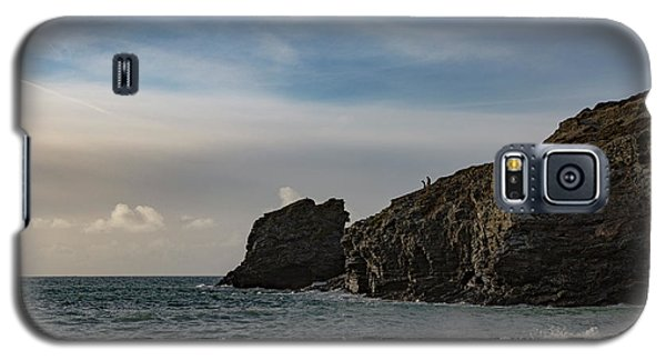 Galaxy S5 Case featuring the photograph Trevellas Cove Cornwall by Brian Roscorla