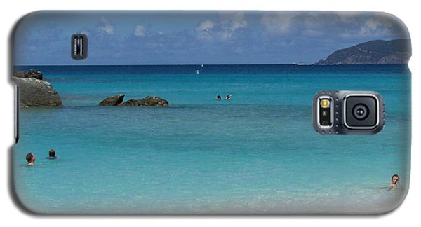 Galaxy S5 Case featuring the photograph Trunk Bay by Carol  Bradley