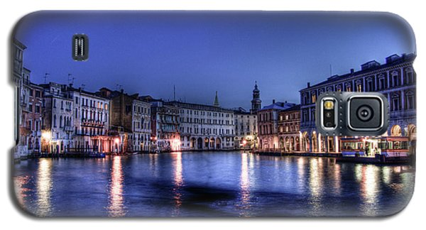 Galaxy S5 Case featuring the photograph Venice By Night by Andrea Barbieri