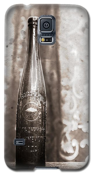 Galaxy S5 Case featuring the photograph Vintage Beer Bottle by Andrey  Godyaykin