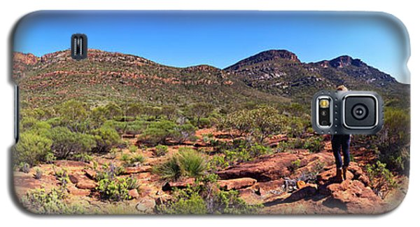 Galaxy S5 Case featuring the photograph Wilpena Pound by Bill Robinson