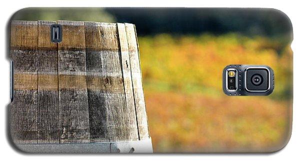 Wine Barrel In Autumn Galaxy S5 Case