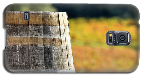 Wine Barrel In Autumn Galaxy S5 Case