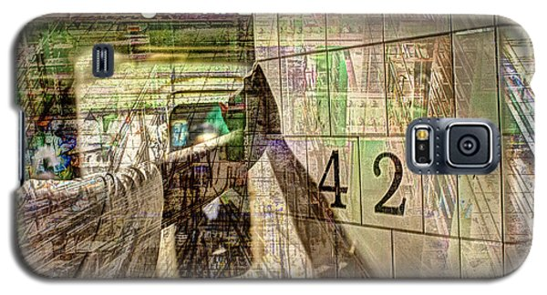 42nd Subway Collage Galaxy S5 Case