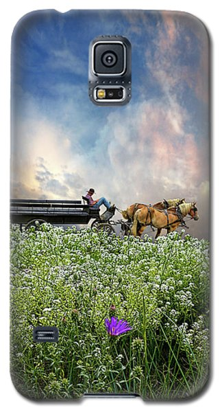 Galaxy S5 Case featuring the photograph 4376 by Peter Holme III