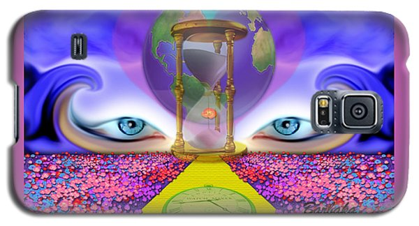 Galaxy S5 Case featuring the digital art 444 Pathway by Barbara Tristan