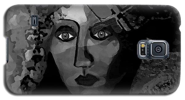 Galaxy S5 Case featuring the digital art 455 - Dark Dreamer by Irmgard Schoendorf Welch