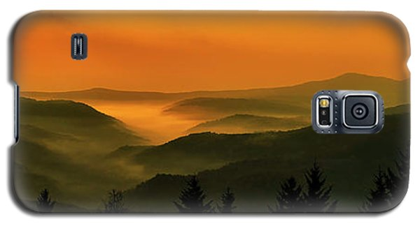 Galaxy S5 Case featuring the photograph Allegheny Mountain Sunrise by Thomas R Fletcher