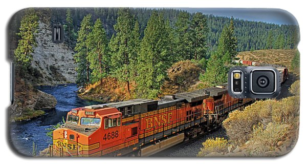 Train Galaxy S5 Case - 4688 by Donna Kennedy
