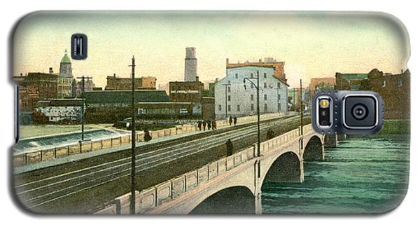 4th Street Bridge Waterloo Iowa Galaxy S5 Case
