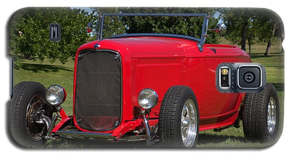 Galaxy S5 Case featuring the photograph 1932 Ford Roadster Hot Rod by Tim McCullough