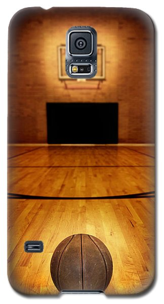 Basketball And Basketball Court Galaxy S5 Case