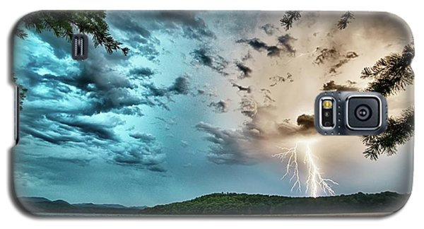 Beautiful Landscape Scenes At Lake Jocassee South Carolina Galaxy S5 Case