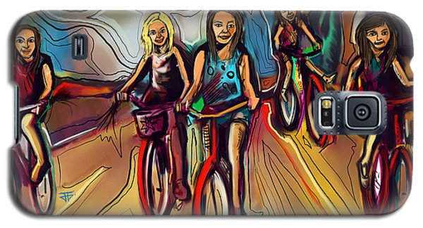 5 Bike Girls Galaxy S5 Case
