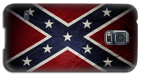 Confederate Flag Galaxy S5 Case by Les Cunliffe
