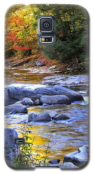 Fall Color Williams River Galaxy S5 Case