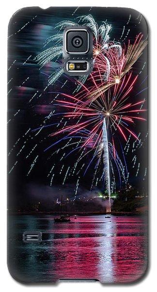 Fireworks Over Portland, Maine Galaxy S5 Case