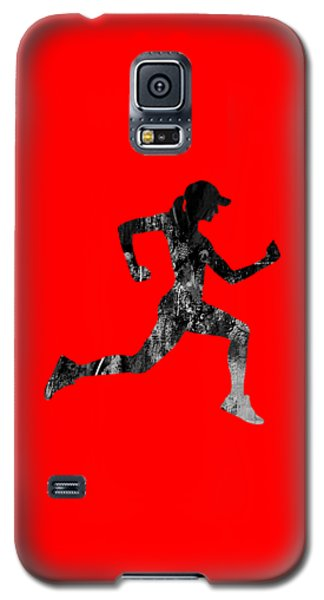 iRun Fitness Collection Galaxy S5 Case by Marvin Blaine