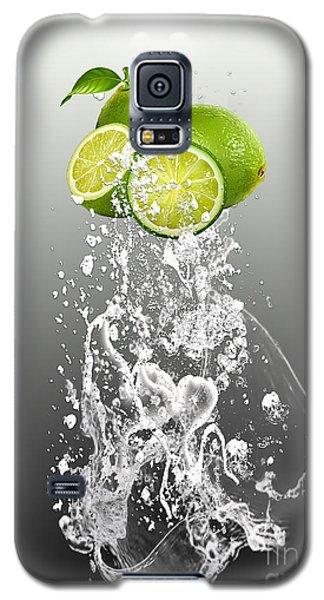 Lime Splash Galaxy S5 Case