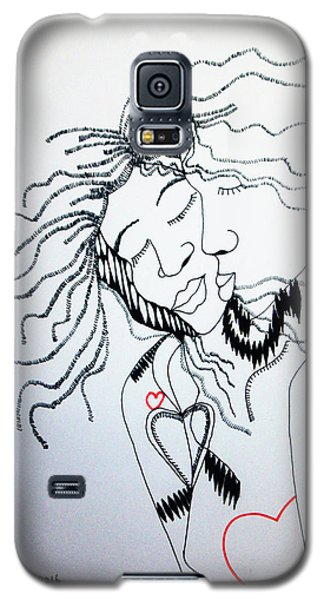 Love Is A Heart Galaxy S5 Case