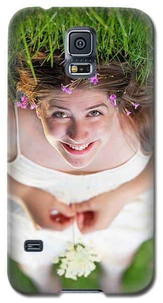 Mckenna Senior Portrait Galaxy S5 Case