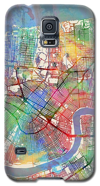 New Orleans Street Map Galaxy S5 Case