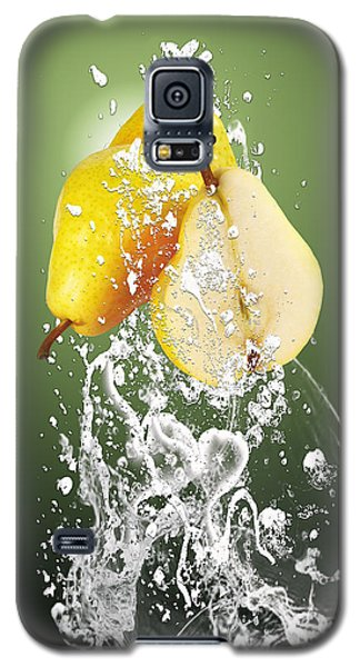 Pear Splash Collection Galaxy S5 Case by Marvin Blaine
