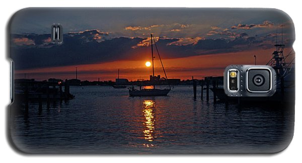 Galaxy S5 Case featuring the photograph 5- Sailfish Marina Sunset In Paradise by Joseph Keane