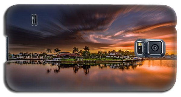 Sunrise At Naples, Florida Galaxy S5 Case