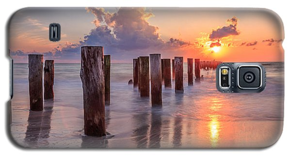 Sunset Naples Beach Florida Galaxy S5 Case