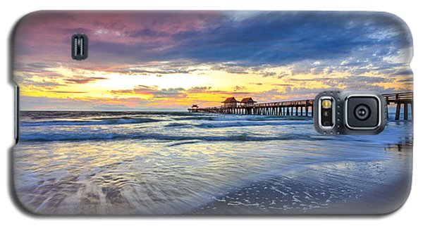 Sunset Naples Pier, Florida Galaxy S5 Case