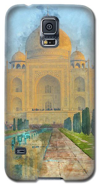 Taj Mahal In Agra India Galaxy S5 Case